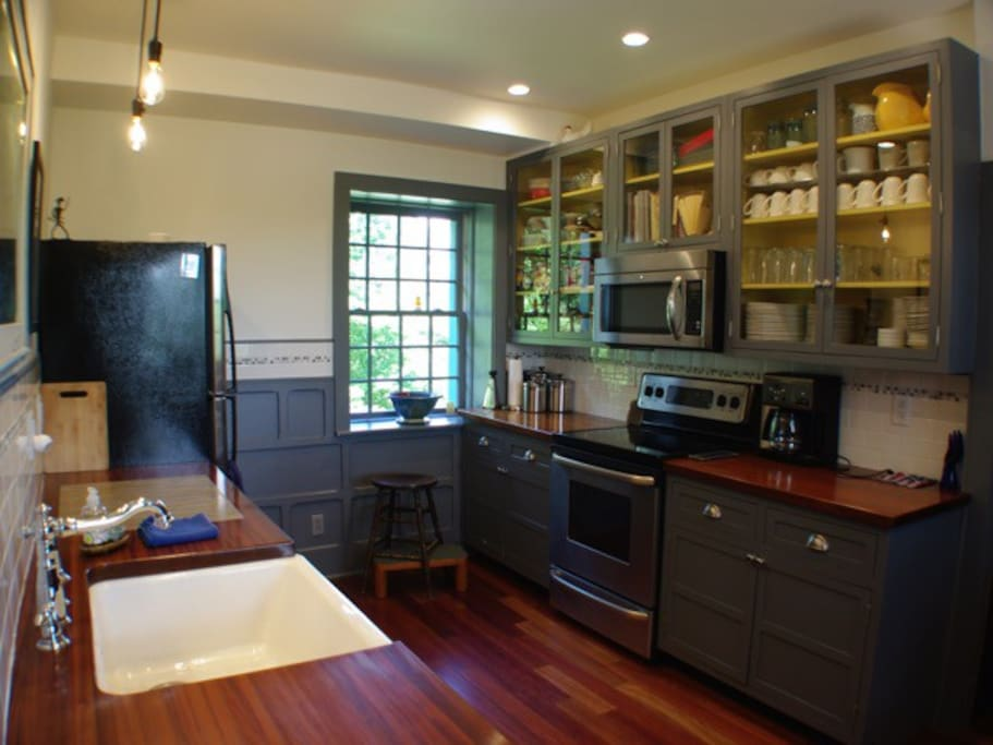 Shared kitchen space