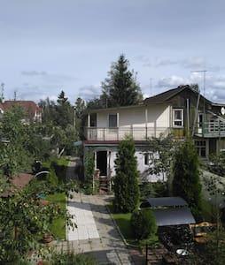 Комфортный дом в 10 мин метро и в 20 мин от центра - Петро-Славянка - Rumah