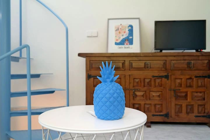 Primera planta: sala de estar
