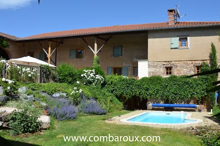 Clos de Combaroux - BnB - Saint-Laurent-de-Chamousset - Bed & Breakfast
