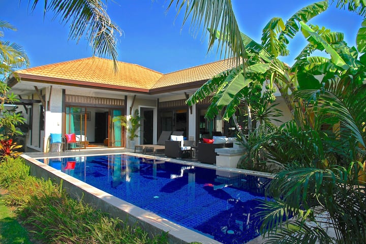 Luxurious design villa.Private pool. Hua Hin