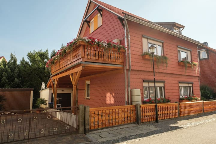 Beautiful apartment in Ilsenburg in Harz National Park at the foot of the Brocken