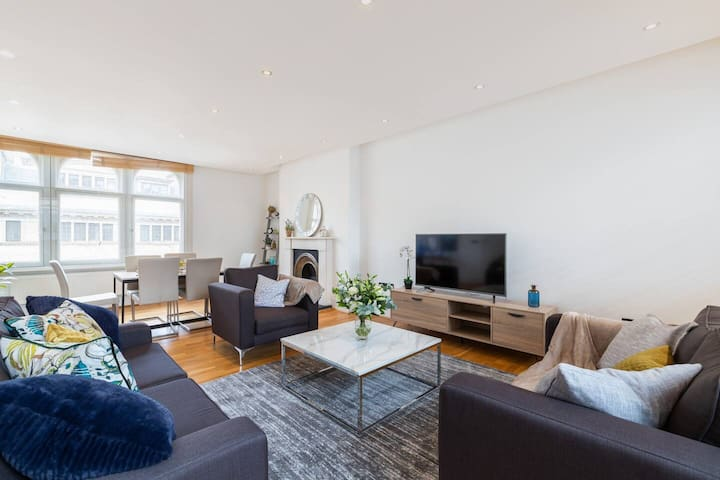 Chic & Lovely 2BR Flat By Marylebone - Oxford St