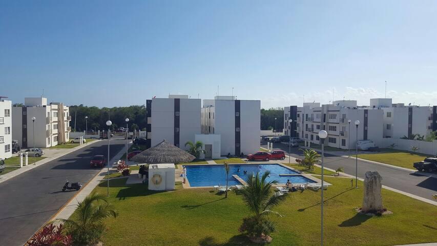 Departamento en Playa del Carmen - Playa del Carmen - Apartemen