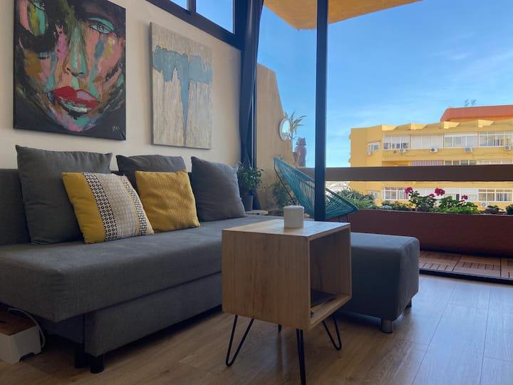 Apartamento TERRAZA & LUZ en pleno centro