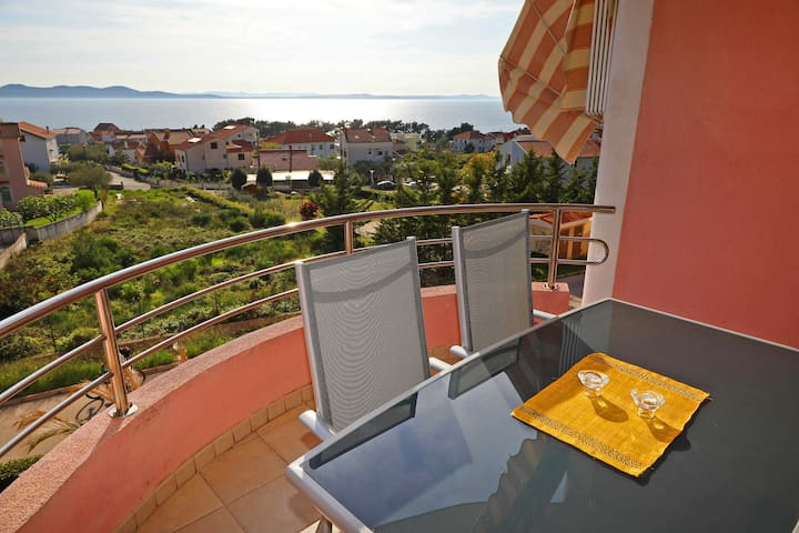 Cozy apartment with a view, in Zadar.