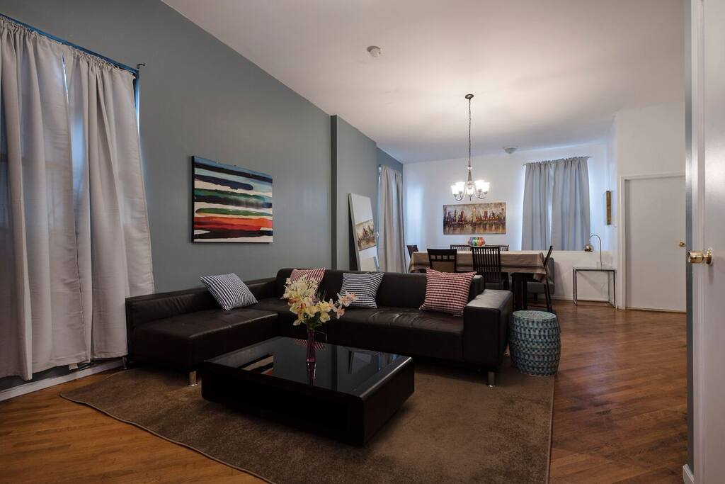 Spacious and Chic Living Area