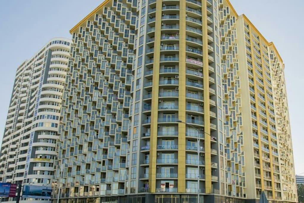 Номер/Квартира в левом (б) блоке 15-й этаж