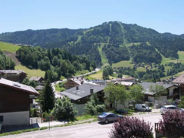 Appartement montagnard au coeur du village
