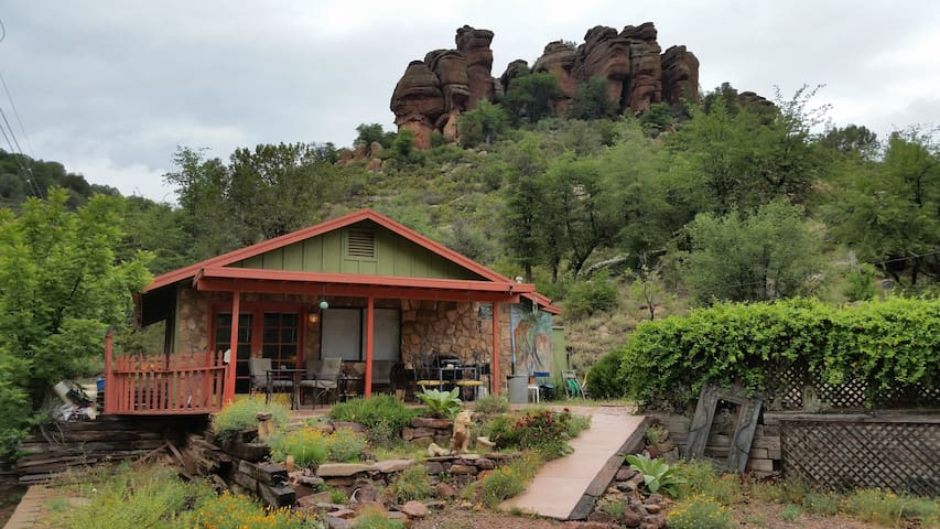 Nature lovers riverfront hideaway - Payson - Apartment
