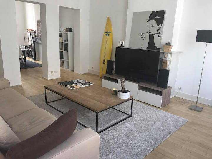 Cosy apartment with rooftop in Brussels centrum