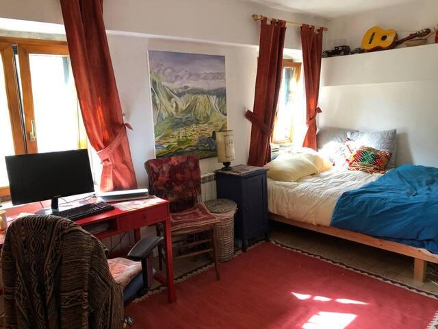 Bedroom with Soundproof door