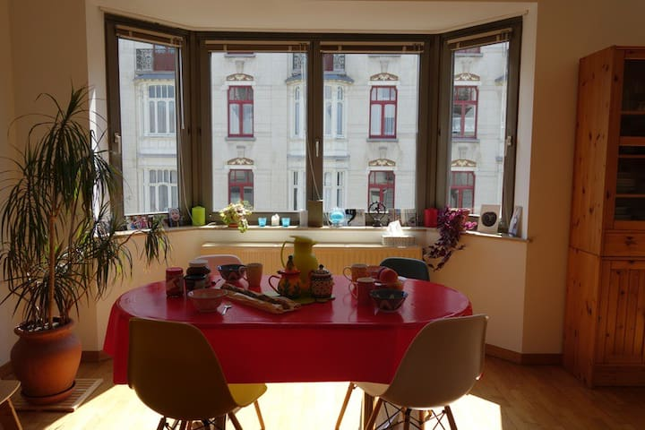 Sunny and Child friendly apartement - Bruxelles - Apartmen