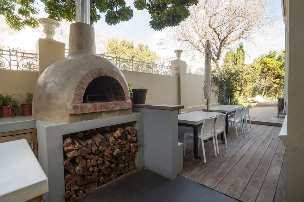 Outside Area - The Pizza Oven