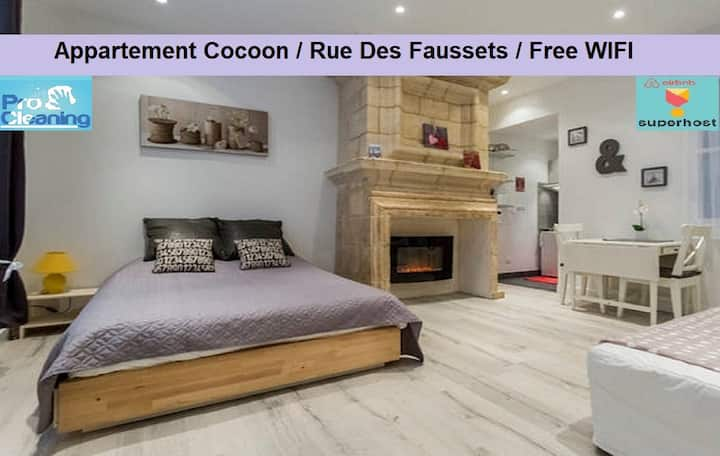 Appart Cosy/Quart St Pierre/Rue des Faussets*****