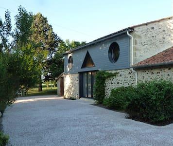 Gite rural 5 pers.110 m², 2 chambres,jardin 3000m² - Les Cerqueux-Sous-Passavant - 独立屋