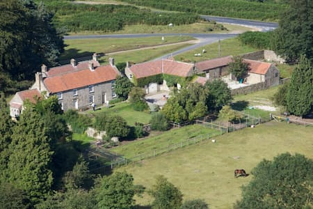 C18th Shooting Lodge, room for two - Hutton-le-Hole - Bed & Breakfast
