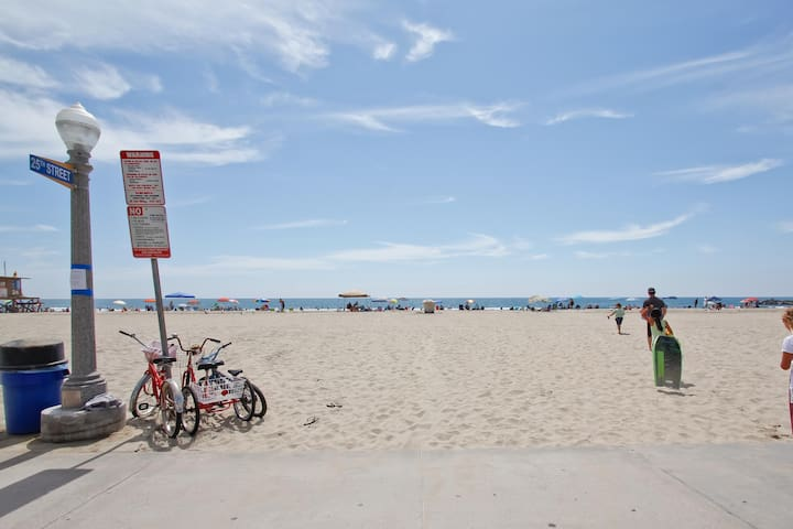 The famous Newport Beach