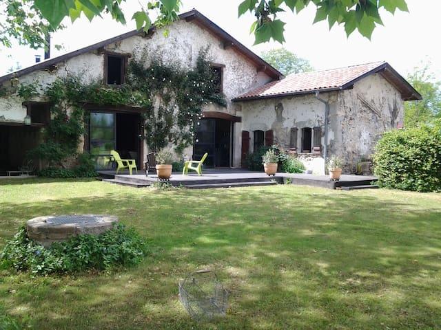 Grande ferme rénovée, 6 chambres - Orist - Casa