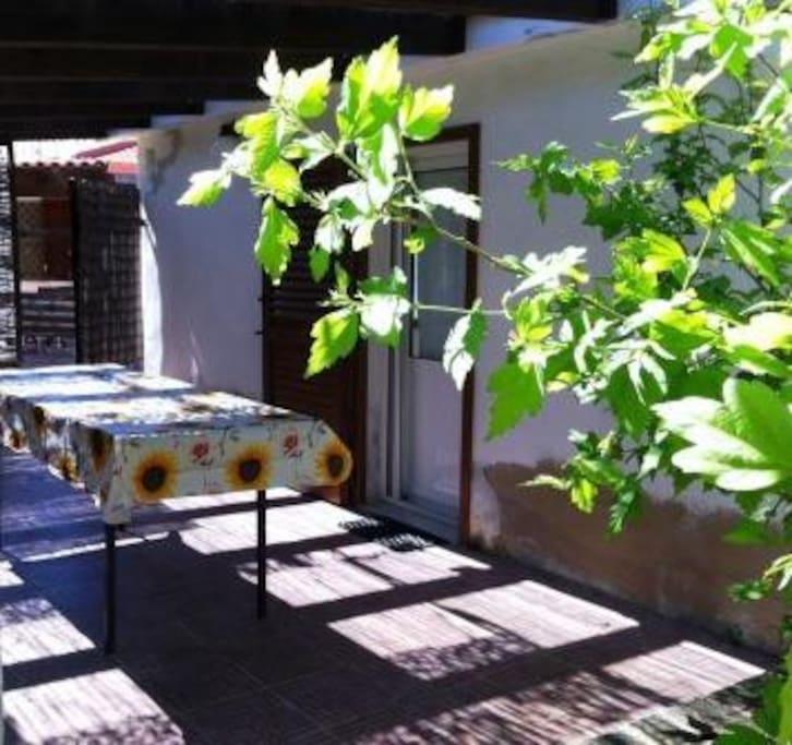 Monolocale con veranda nel verde case in affitto a for Case affitto alghero privati