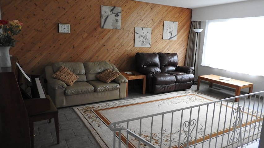 Bright/Roomy/Quiet home for four, 3 Rooms, 4 Beds - Delta - Haus
