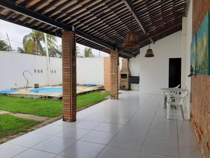 Duplex pé na areia na Barra de São Miguel
