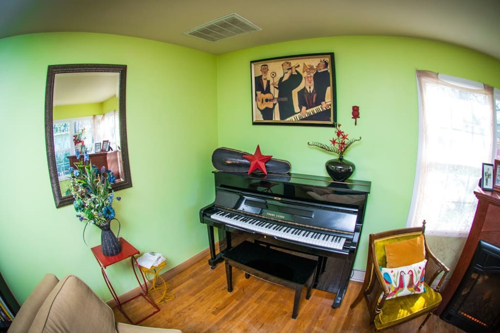 Piano is open to all our guests.
