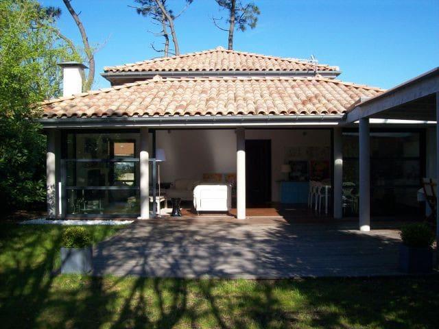 Maison d'architecte Chiberta proche plages-golf - Anglet - Ev