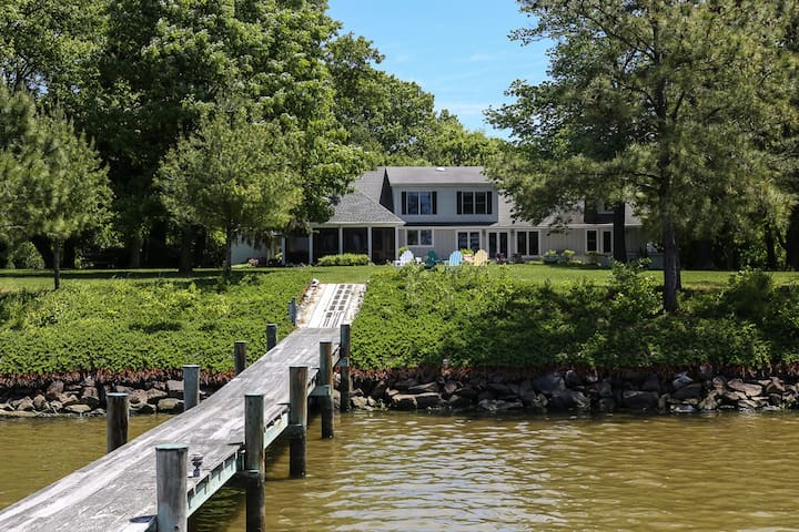 Luxury Waterfront St. Michaels Home - St. Michaels - Hus