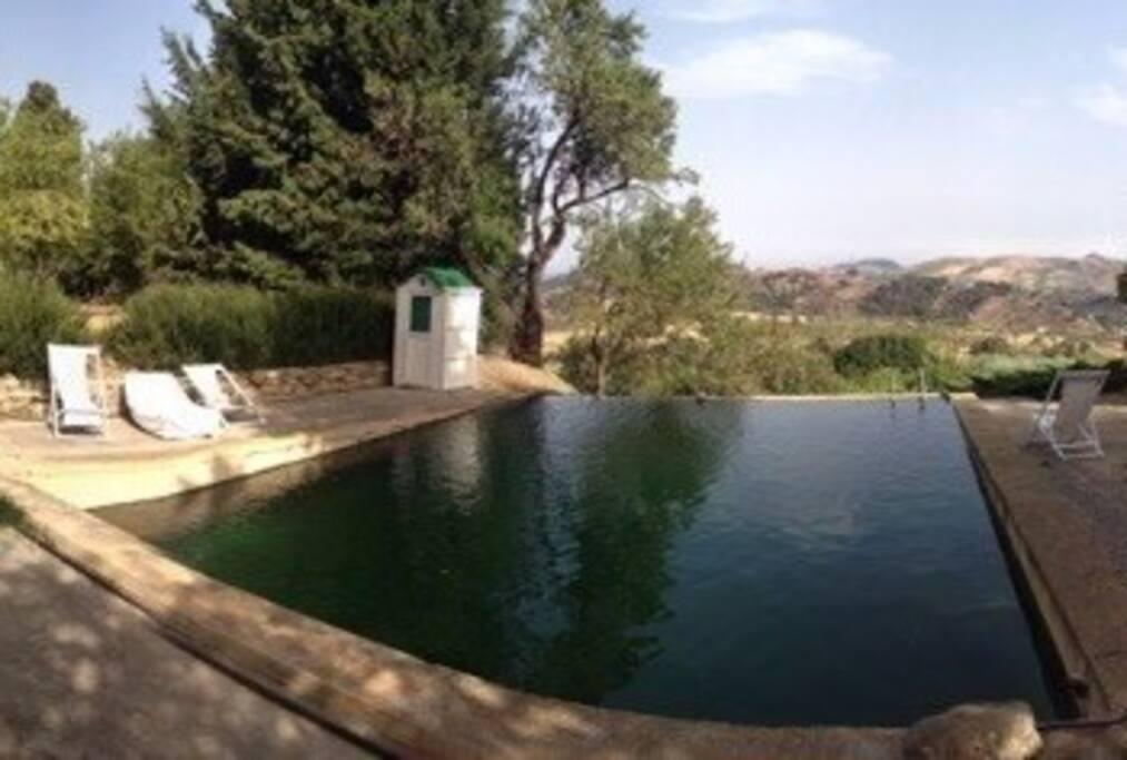 La Gebbia, la nostra piscina con acqua di sorgente