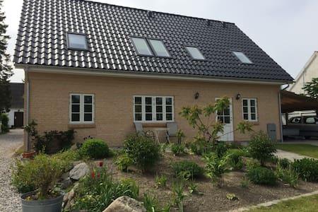 Nice new family house near Roskilde - Rumah