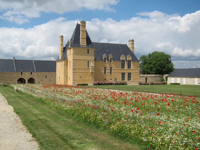 Farm Manor in Bayeux (Historical) - Monceaux-en-Bessin - Lejlighed