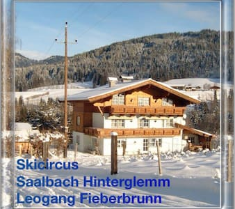 Comfort und Royale Woning direct am Skicircus - Fieberbrunn - Huis