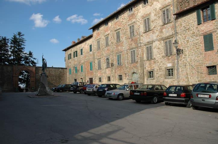 Alloggiare in un palazzo del 1600 ! - Castel Rigone - Passignano sul Trasimeno  - Apartamento