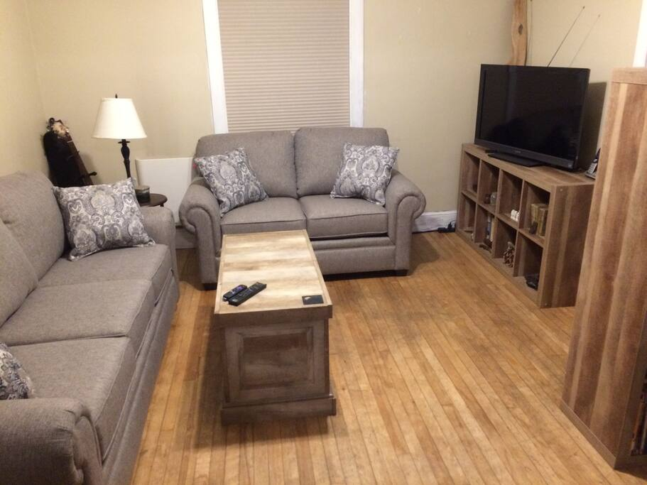 Our living space is shared.  Feel free to relax here if you like!