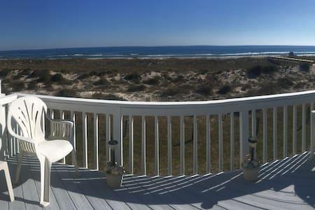 OCEAN FRONT 2 bed/2 bath town home - Fernandina Beach - Radhus