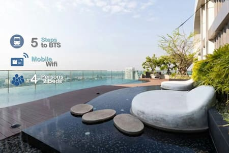5 STEPS TO BTS PRAKHANONG/BTSまで5歩! - Bangkok