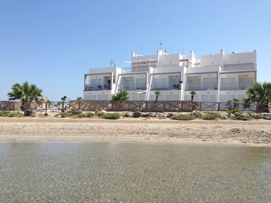 Residence in front of Mar Menor sea