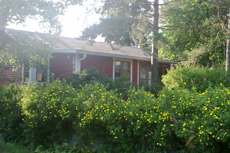 A cosy cabin by the Baltic sea - Houtskär - กระท่อม