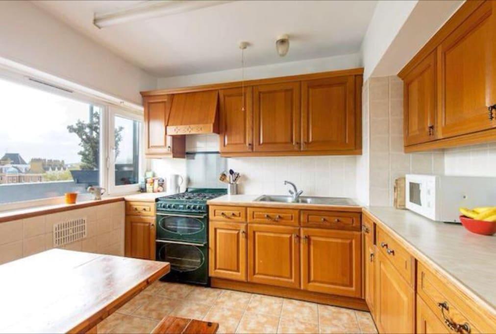 Kitchen (We have fridge , freezer, oven, toaster, microwave, rice cooker etc).