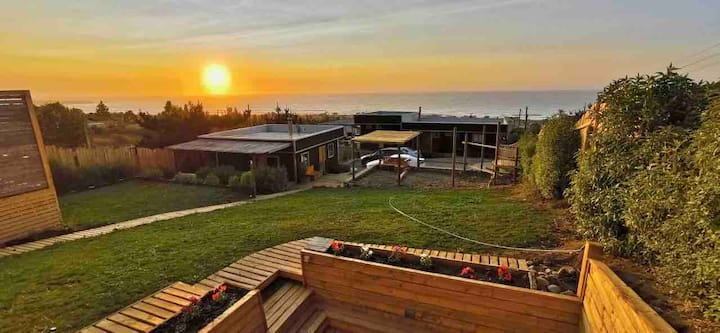 Vive Pichilemu cabaña para 8-9 personas