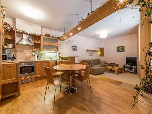 Spacious-silent comfort in Old Town +Free Parking