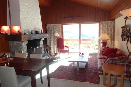 Vieille Fontaine - apartment in the attic - Bagnes
