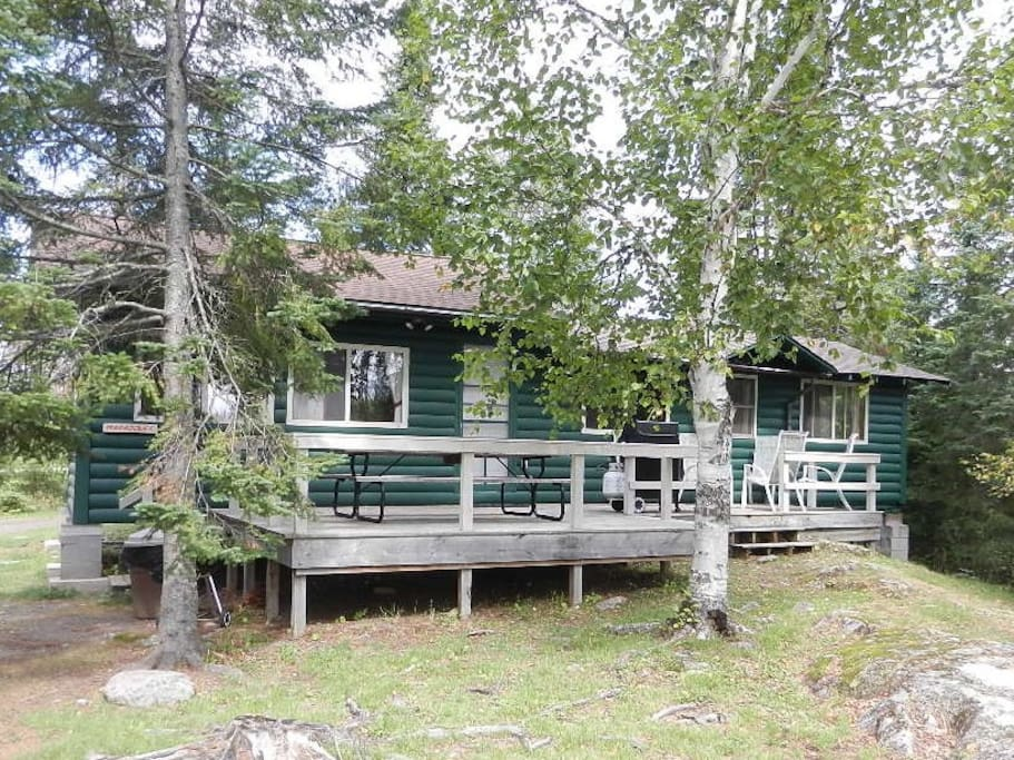 waterfront cabin bwca maraboeuf cabins for rent in grand