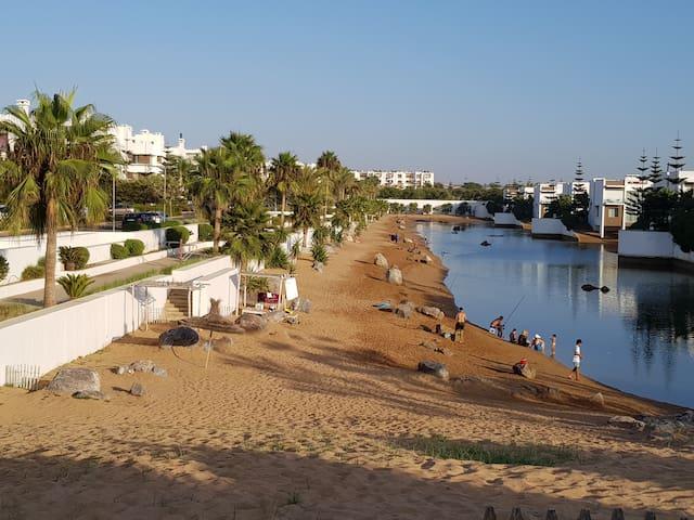 Appartement en bord de mer-Eden Island bouznika
