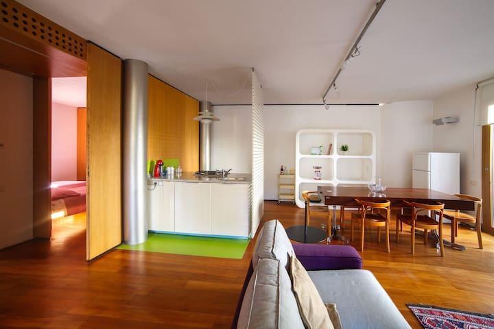 Appartamento in pieno centro a Cervia con veranda