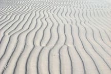 Sand Ripples on Silver Cove Beach