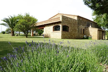 Farmhouse nearby Costa Brava & Barcelona - peratallada