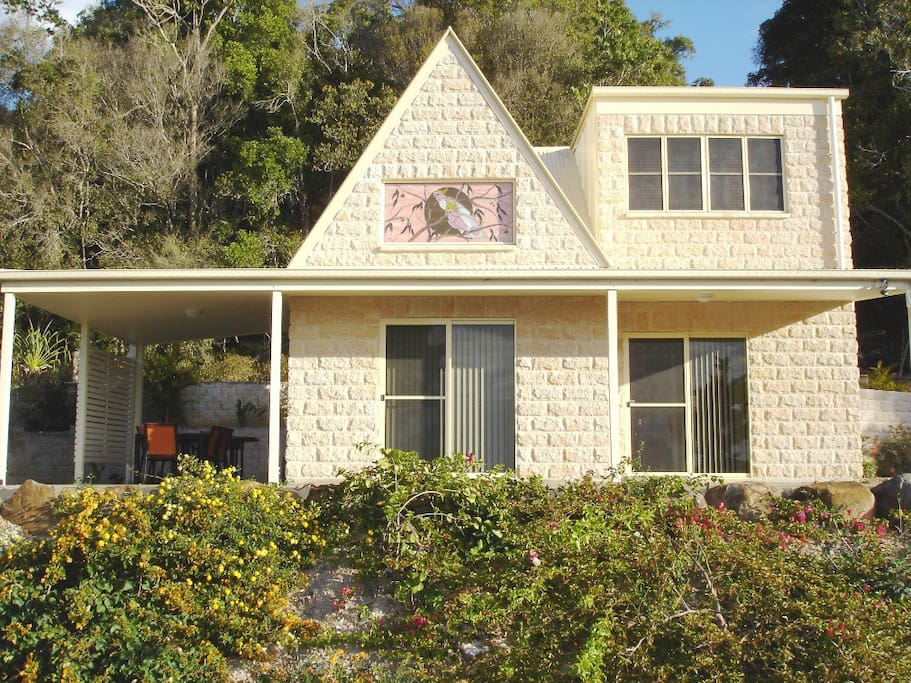 Cooroora cottage front