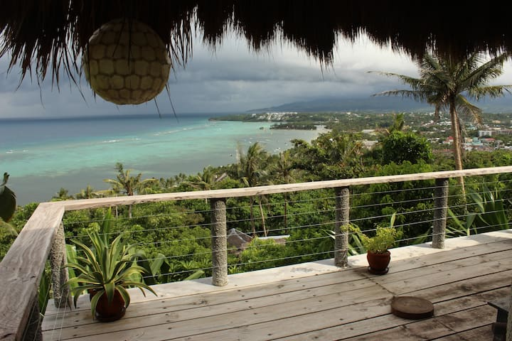 Sunrise & View of  Kiteboardg Cove (Topfloor Lvl2) - Boracay - Villa